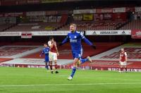 Gol Telat Jamie Vardy Buat Arsenal Keok 0-1 dari Leicester