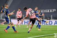 Juventus Susah Payah untuk Imbangi Hellas Verona