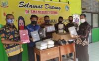 MNC Peduli Salurkan Masker ke Siswa SMAN 2 Gowa Sulsel