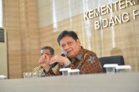 Airlangga: UU Cipta Kerja Jurus Indonesia Terlepas dari Middle Income Trap