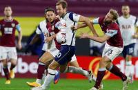 Tottenham Masih Kesulitan Bobol Gawang Burnley di Paruh Pertama