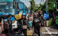 Libur Panjang, Jumlah Penumpang Bus di Kalideres Mulai Naik