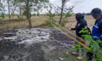 Heboh Semburan Gas di Indramayu, Warga Kaget Dengar Ledakan