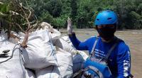 100 Karung Sampah Ditemukan di Sungai Ciliwung, Mayoritas Berisi Styrofoam
