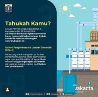 Atasi Pencemaran Air di Jakarta, Pemprov DKI Siapkan Sistem Pengelolaan Air Limbah Domestik Terpusat