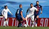 Berkat Hazard dan Benzema, Madrid Menang 4-1 atas Huesca
