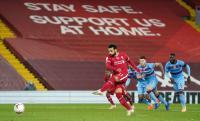 Mo Salah Selamatkan Liverpool dari West Ham di Babak Pertama