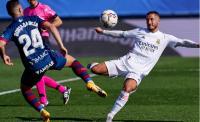 Usai Menanti 392 Hari, Hazard Akhirnya Cetak Gol Lagi untuk Real Madrid