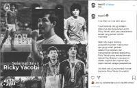 Pesan Duka Bambang Pamungkas atas Kepergian Ricky Yacobi