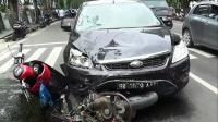 Driver Ojol Tewas Tertabrak saat Antar Pesanan Makanan