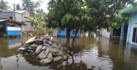 Sepekan Terendam Banjir, Warga Mengungsi di Tanggul Sungai