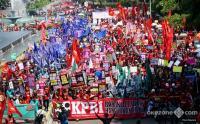 Kenaikan UMK 2021 Tak Sesuai, Buruh di Jatim Bakal Turun ke Jalan