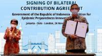 Tingkatkan Kontribusi Hadapi Covid-19, Indonesia Tanda Tangani Kesepakatan dengan CEPI