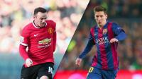 Lionel Messi dan Wayne Rooney Nyaris Jadi Rekan Satu Tim