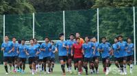 Shin Tae-yong Tendang Dua Pemain Timnas Indonesia U-19 yang Tidak Disiplin