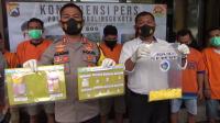Polres Probolinggo Kota Tangkap 9 Pelaku Narkoba dalam Sepekan