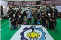 ITS Buktikan Jawara Otak-Atik Robot Indonesia