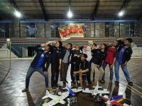 Mahasiswa UNS Juara Bidang 3D Pattern Aeromodelling di Universitas Telkom