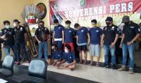 Polisi Tangkap Komplotan Bajing Loncat yang Beraksi di Cakung Jaktim