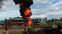 SPBU Meledak di Mentawai, 1 Orang Terluka