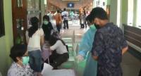 Persiapan Sekolah Tatap Muka, 5000 Siswa SMP di Surabaya Tes Swab