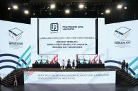 Blended Graduation Politeknik LP3I Jakarta,  Memuliakan Orangtua di Era  Peradaban Baru