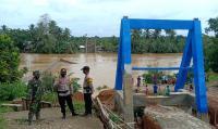 Banjir Landa Merangin, 1 Jembatan Putus dan Puluhan Rumah Terendam