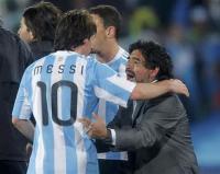 Kombinasi Diego Maradona-Lionel Messi di Piala Dunia 2010 Berujung Petaka