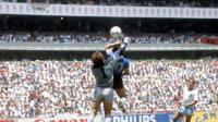 Maradona Mengakui Menggunakan Tangan 2 Kali saat Piala Dunia