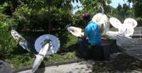 Sempat Lesu karena Pandemi, Usaha Payung Lukis Mulai Geliat