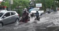 Hujan Lebat, Kawasan Dolly Surabaya Dilanda Banjir