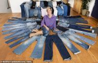 """""""Jeansaholic"""", Habiskan Uang Beli Jeans hingga Rp700 Juta"""