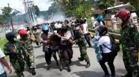 Demo Berujung Bentrok di Papua, Polisi Amankan 36 Orang