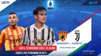 Live Streaming Benevento vs Juventus Bisa Disaksikan di RCTI+