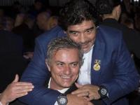 Saat Maradona Anggap Mourinho Lebih Baik dari Guardiola