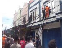 Kantor Bank Lampung Dilahap Si Jago Merah