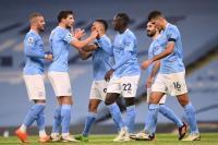Hattrick Riyad Mahrez Bantu Man City Hancurkan Burnley 5-0