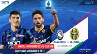 Saksikan Live Streaming Atalanta vs Verona di RCTI+