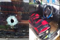 <i>Ngeri</i>! Mobil di Manokwari Jadi Sasaran Penembakan