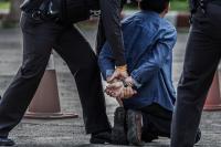 Pelaku Jambret Tas Pengemis Tersungkur Ditembak Polisi