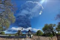 Pemerintah Terapkan Prokes kepada Pengungsi Terdampak Erupsi Gunung Ile Lewotolok