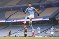 Cetak Hattrick, Mahrez Girang Bantu Man City Bantai Burnley 5-0