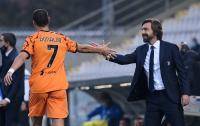 Bawa-Bawa Madrid, Pirlo Tak Mau Juventus Terlalu Bergantung dengan Ronaldo