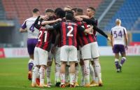 AC Milan Tumbangkan Fiorentina 2-0 di San Siro