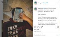 Unggahan Foto Wajah Tertutup Buku di Instagram Wagub Ariza Dibanjiri Doa