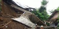 Diterjang Tanah Longsor, Dua Rumah Warga Rusak