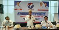 Beri Pendidikan ke Kader, Perindo Makassar Tekankan Pentingnya Partisipasi Politik