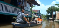 Tujuh Ribu Rumah di Batanghari Terendam, Aktivitas Ekonomi Lumpuh
