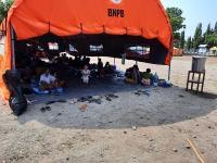 5.830 Warga Mengungsi Imbas Erupsi Gunung Ile Lewotolok