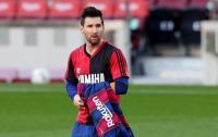 Selebrasi Messi untuk Maradona Langgar Aturan, Barcelona Bakal Didenda Rp50,9 Juta